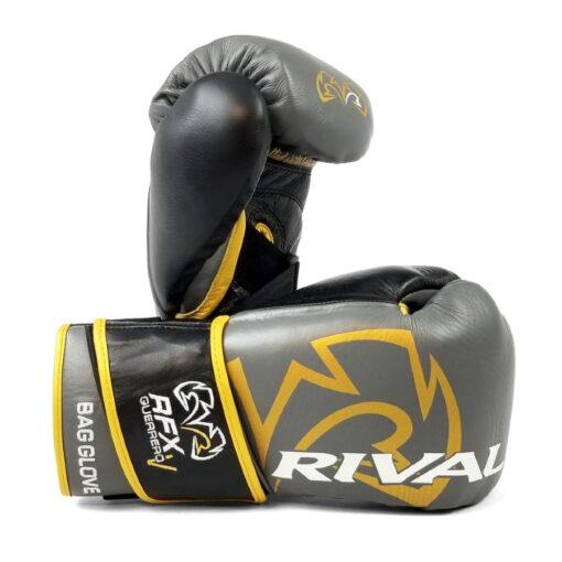 Rival RFX-GUERRERO rukavice - HDE-F - Siva/Zlatna