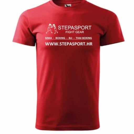 Stepasport majica Logo - Crvena