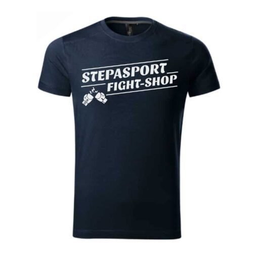 Stepasport majica Fight shop - Tamno plava