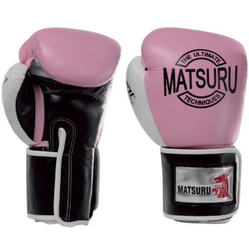 Matsuru rukavice ''Pattaya''- Crna/Roza
