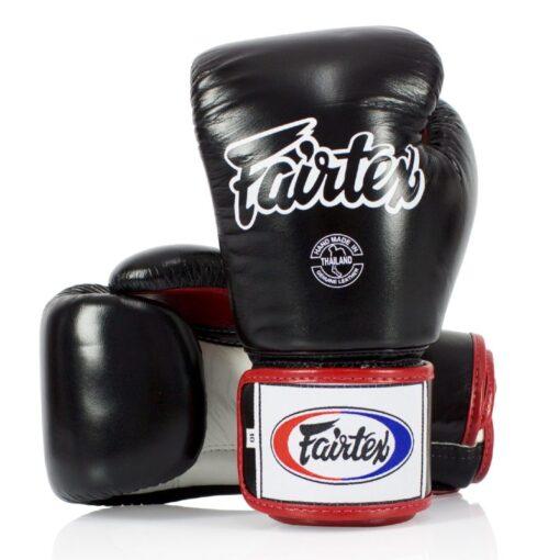 Fairtex rukavice BGV1 - Crna/Bijela/Crvena