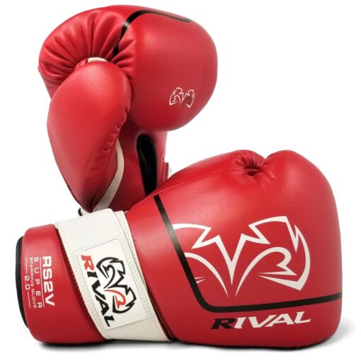 Rival RS2V Sparring rukavice - Crvena