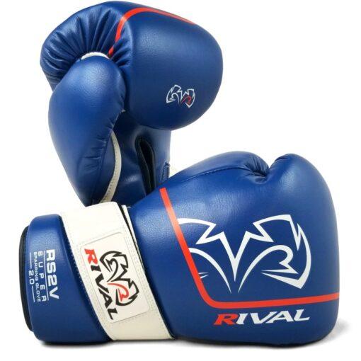 Rival RS2V Sparring rukavice - Plava